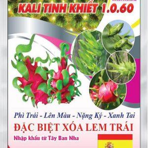 Phân bón Kali Tinh Khiết 1.0.60